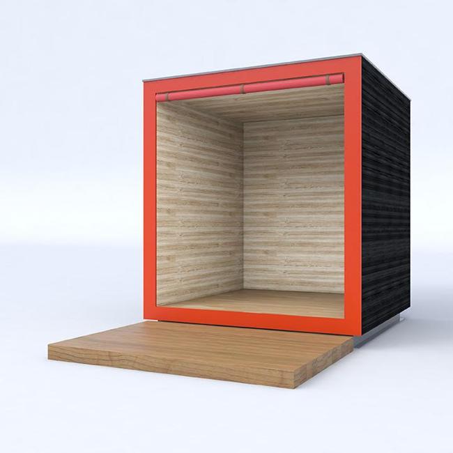 「木造モバイルボックス」